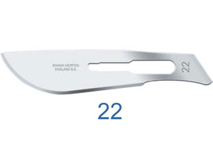 No 22 Scalpel Blade for Handle No 4