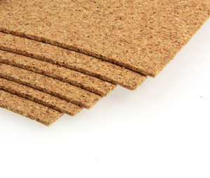 Cork Sheets - 305 x 305 x 1.6mm