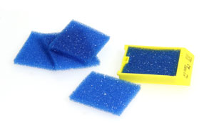 Blue Biopsy Insert Pad, Pack/1000