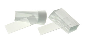 Microscope Slides, Thickness Approx 1 mm with 90° Ground Edges BOX/50