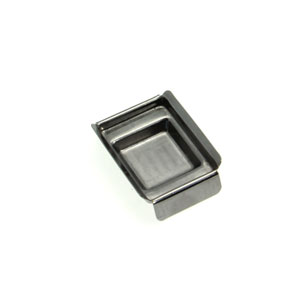 24x24x5mm Metal Base Moulds, PACK/5